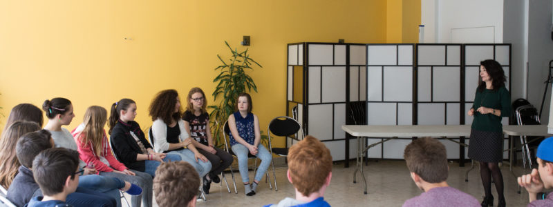 Photo de groupe de jeunes - prevention